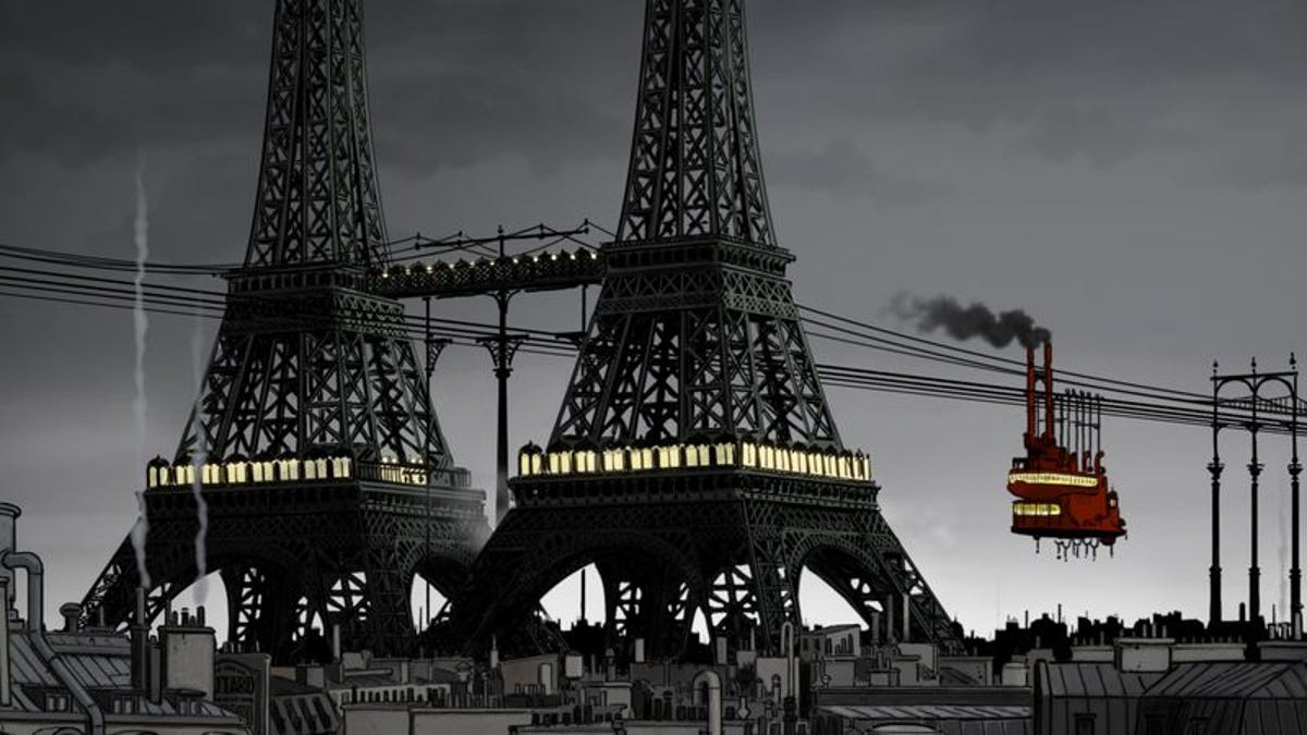 April And The Extraordinary World is an animated steampunk wonder