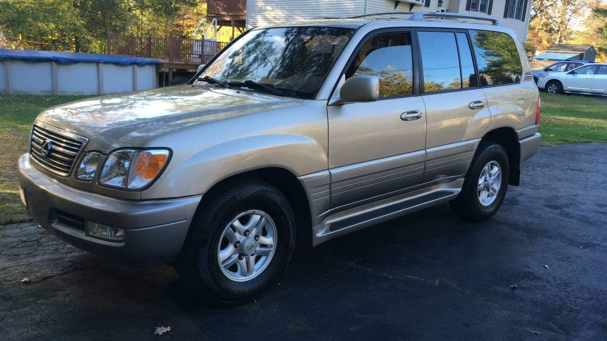 for 5 500 would you crossover to this 1999 lexus lx470 suv crossover to this 1999 lexus lx470 suv