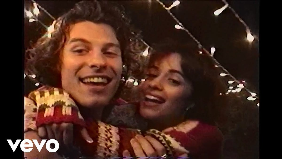 Shawn Mendes and Camila Cabello's 'The Christmas Song' Depicts Famous People Acting Normally