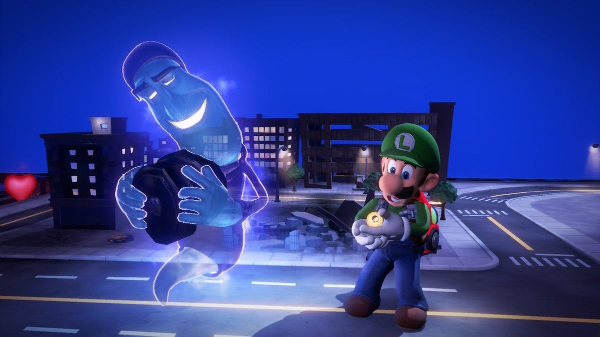 The Best Level In Luigi's Mansion 3 Lets You Help Or Betray A Friendly Ghost