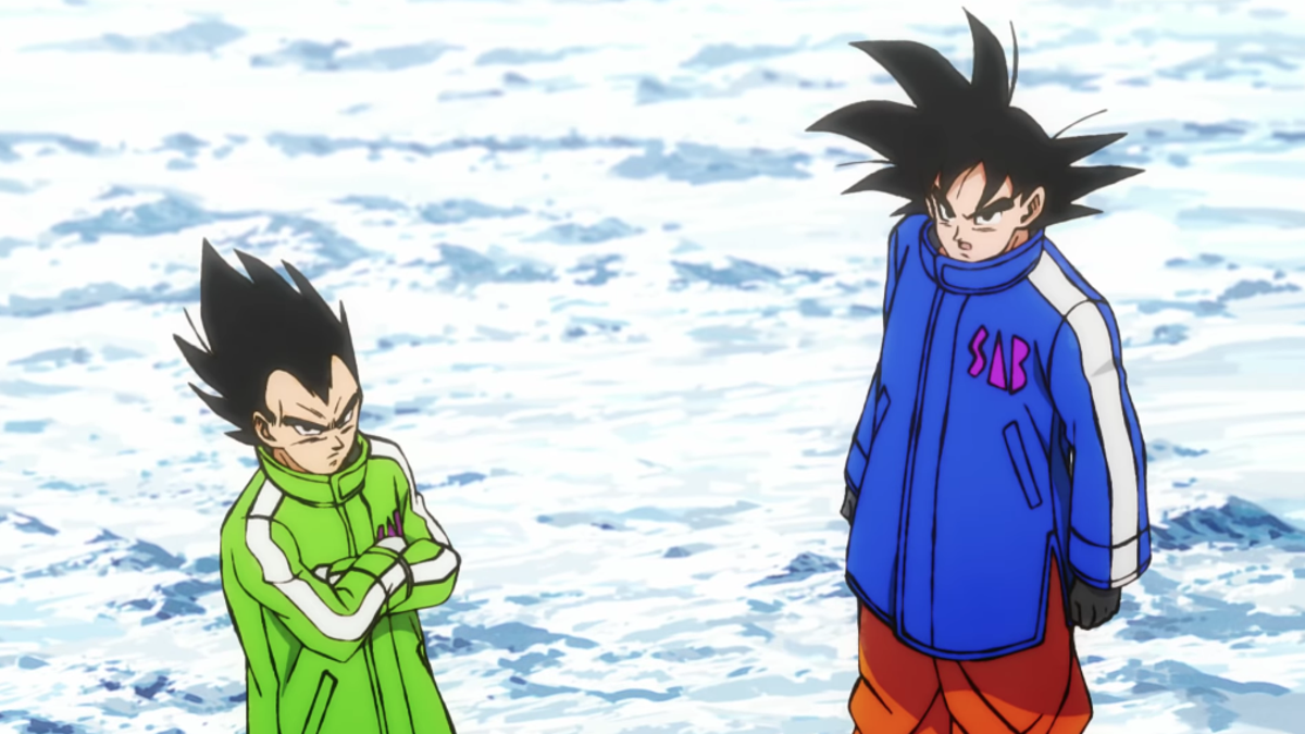 People Love Goku And Vegeta's New...Jackets