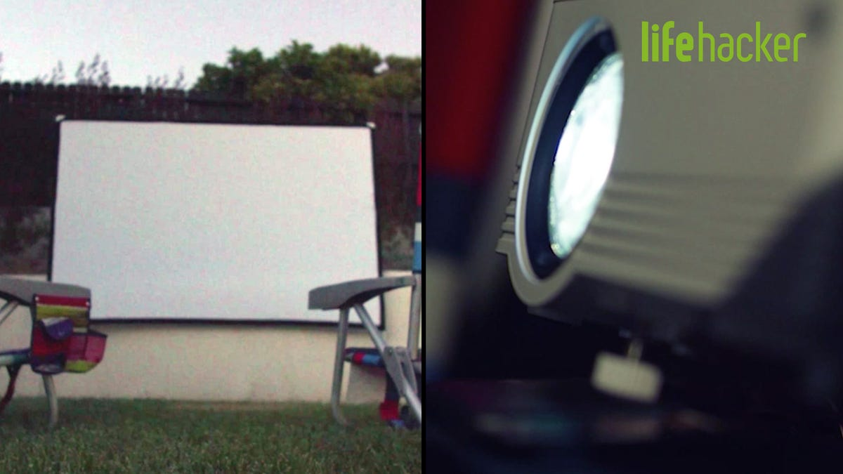 Làm thế nào để tạo rạp chiếu phim sân sau của riêng bạn