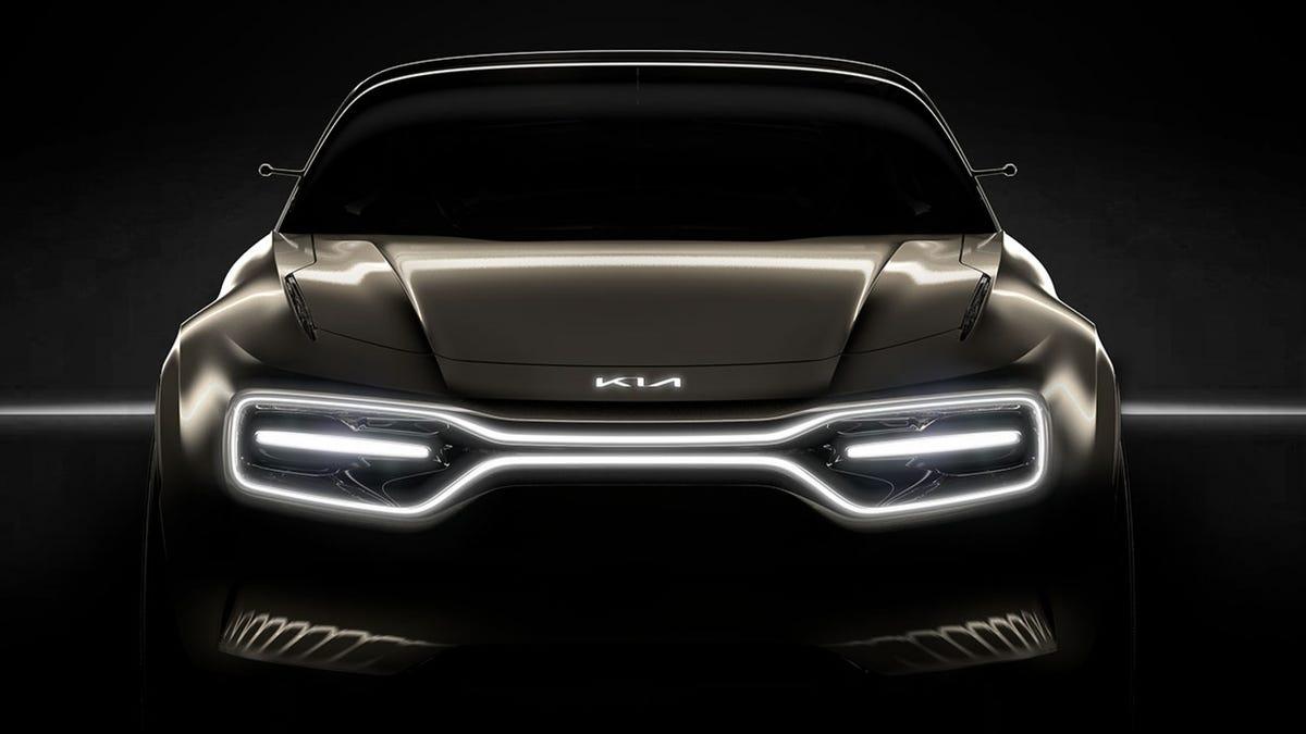 Kia's New Electric Concept Car Looks Menacing