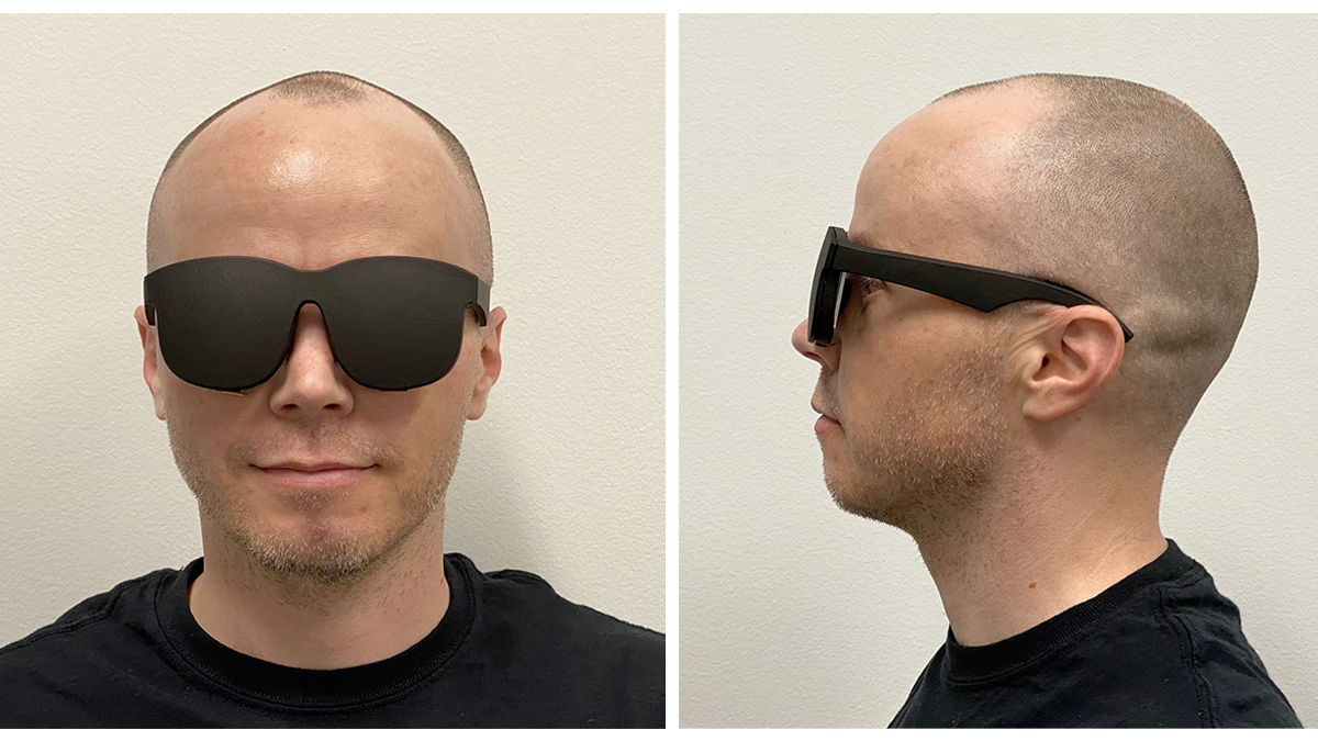 Facebook Has a VR Headset Prototype That Looks Like a Pair of Glasses thumbnail
