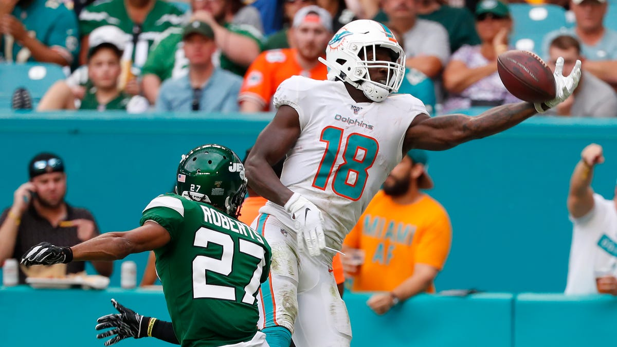 Dolphins Dent Pursuit Of Being NFL's Worst Team, Perhaps Ever