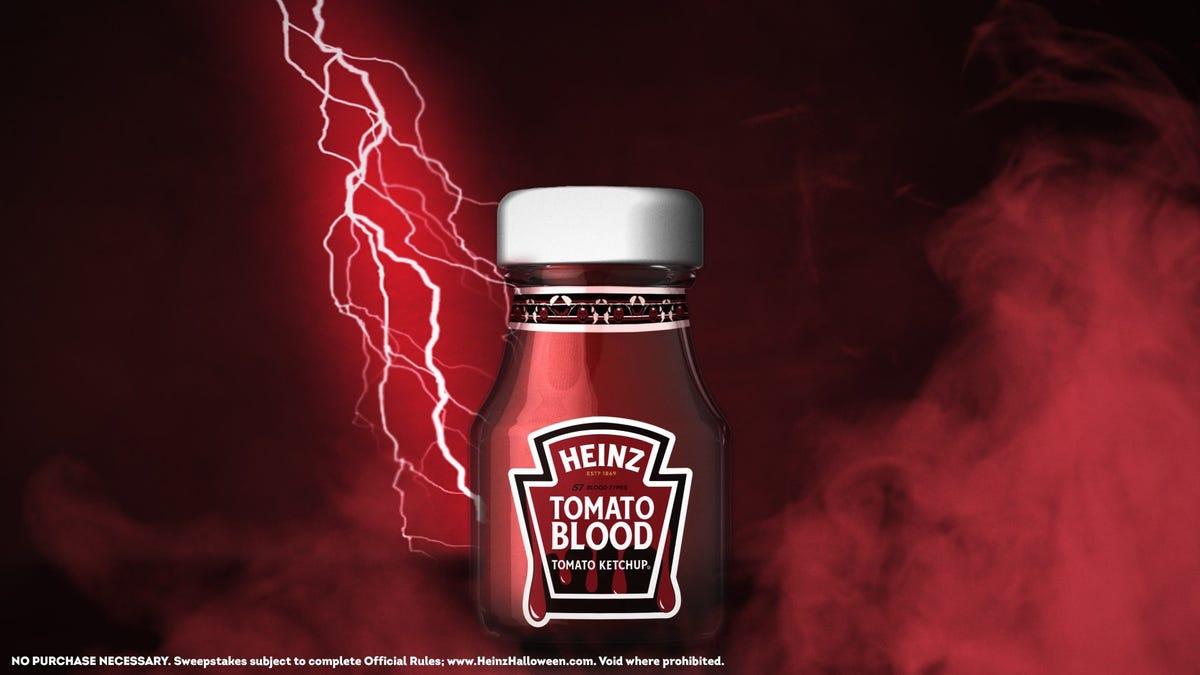 Heinz is giving away Tomato Blood ketchup via TikTok