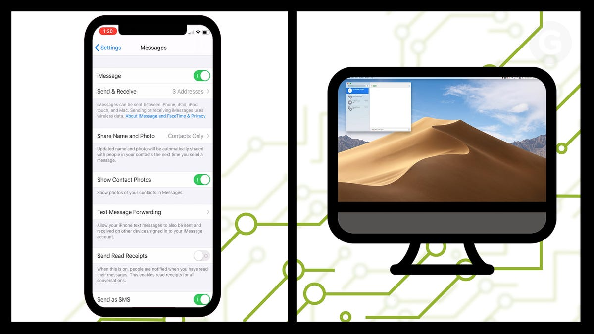 How to Get SMS Text Messages on Your Mac