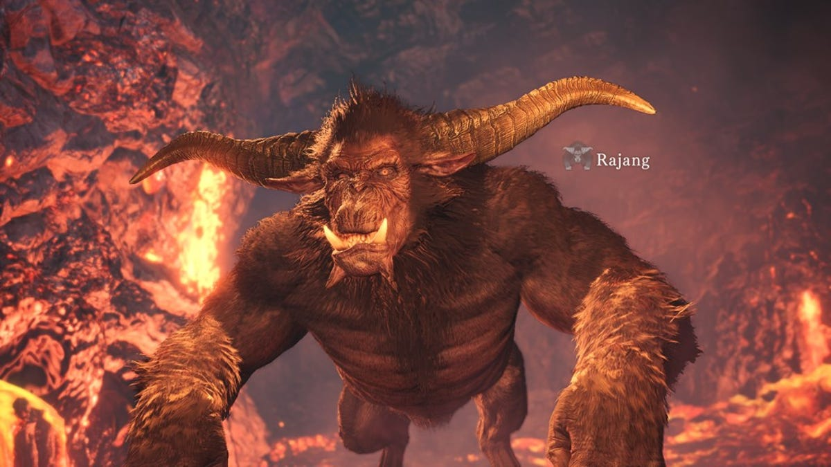 Monster Hunter World Finally Adds Rajang, A Notorious Ape That Will Smack Your Teeth Out