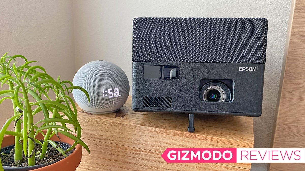 Epson's EF12 Laser Projector Is a Mighty but Pricey Streaming Box