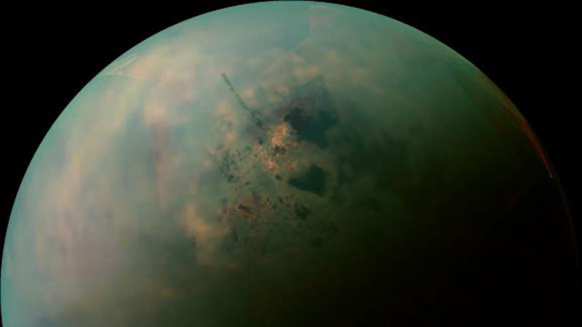 A Methane Sea on Saturns Moon Titan Could...