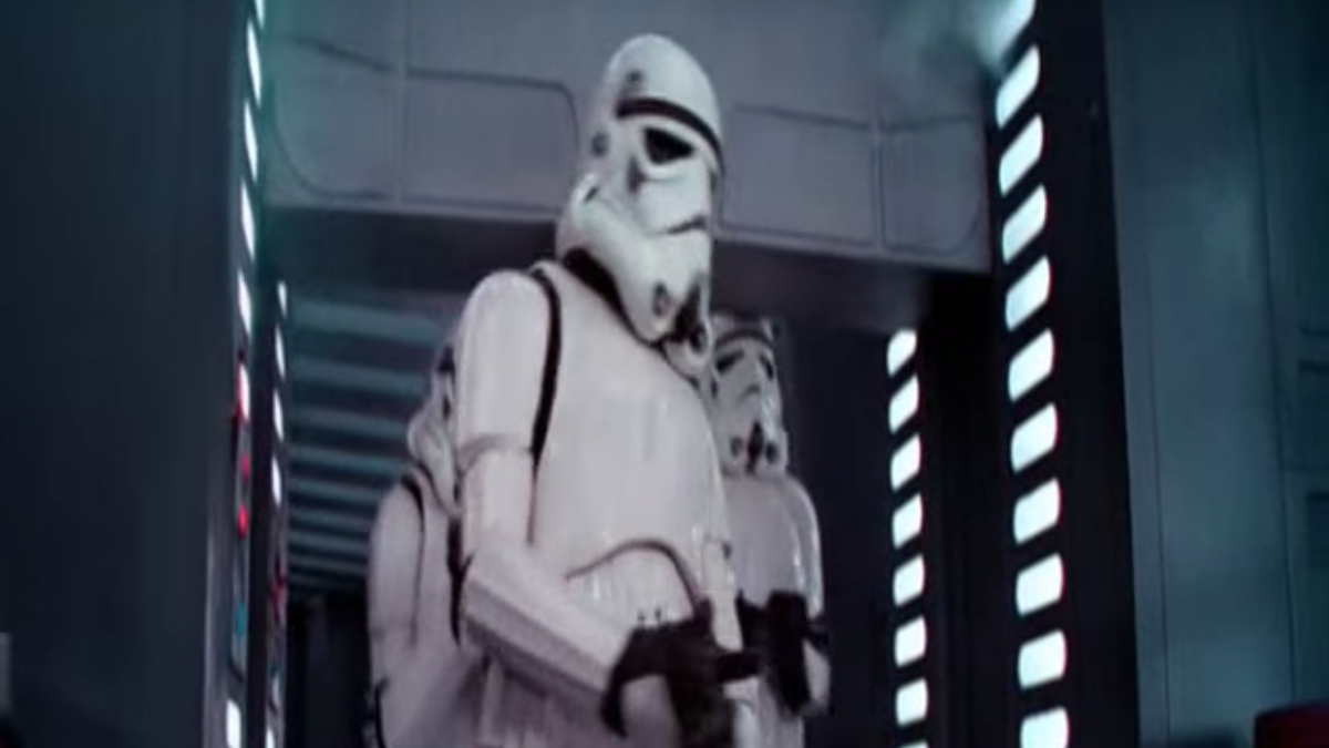 Star Wars documentary (sorta) solves the mystery of the Stormtrooper who bonked his head on a door