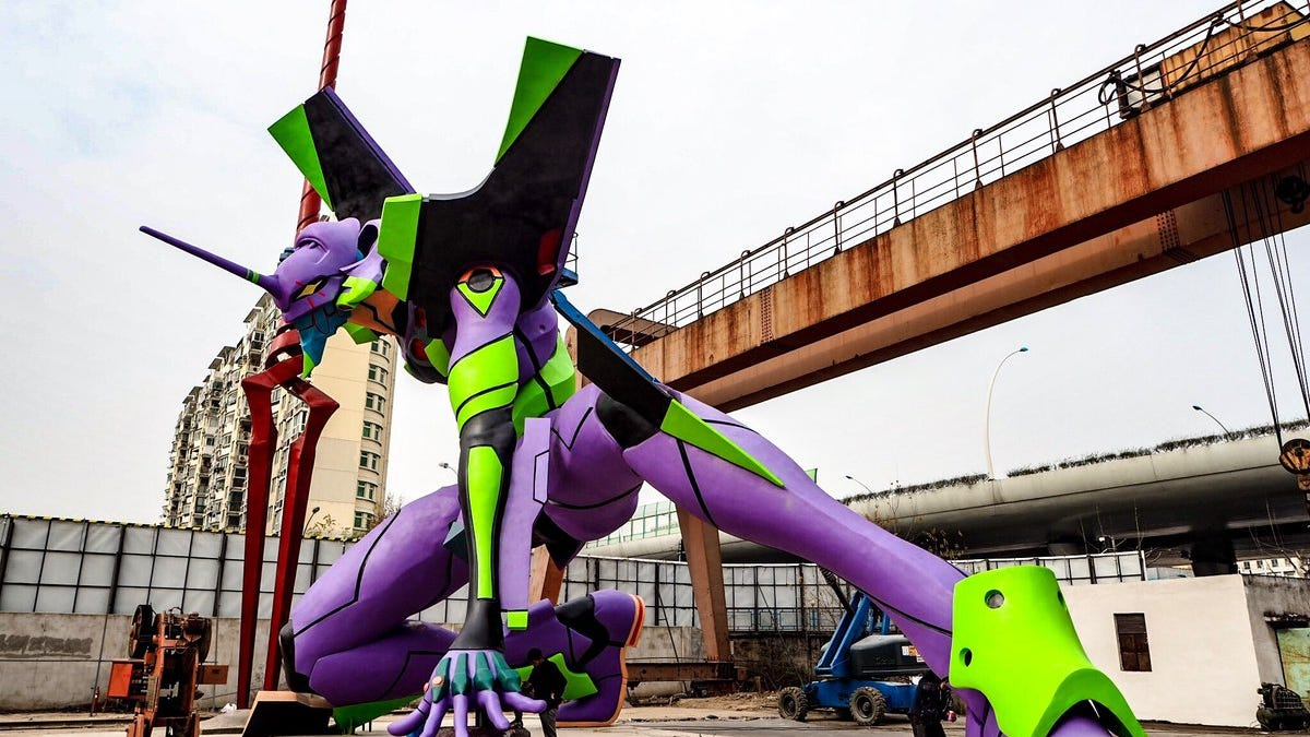 The Tallest Evangelion Statue In The World