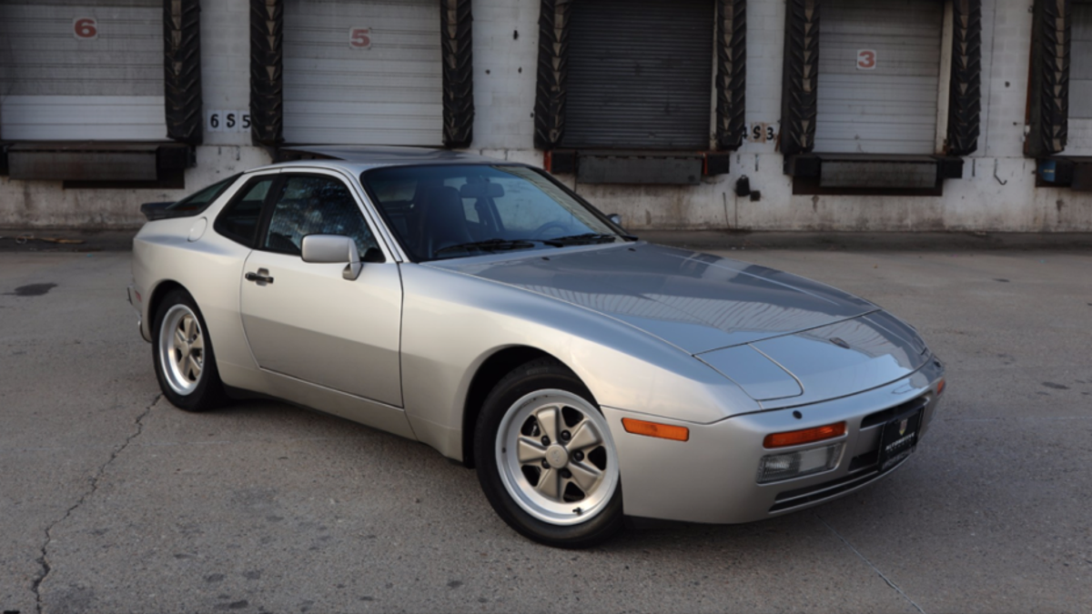 There S A Mostly Very Good 29k Mile 1986 Porsche 944 Turbo On Bat