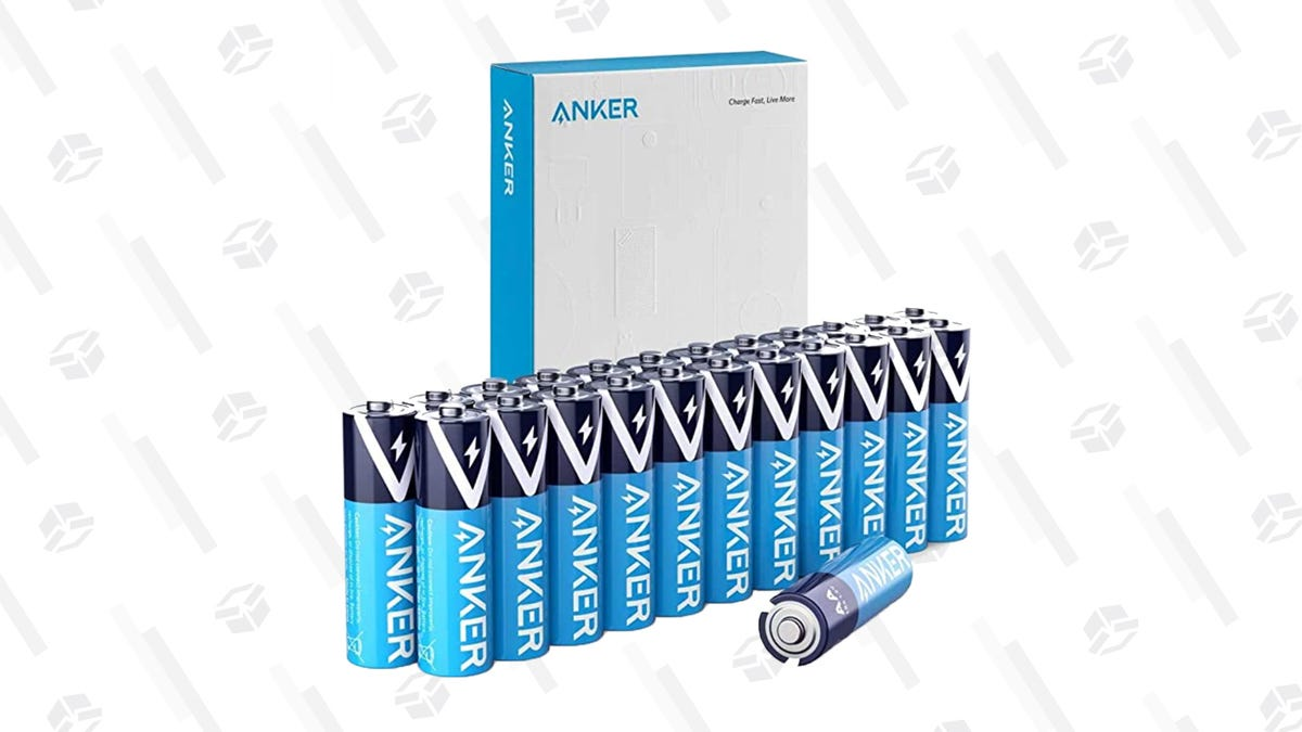 Buy a 24-Pack of Anker AA Batteries for $7, So You Can Finally Replace the Ones From the TV Remote You Put in the Xbox Controller