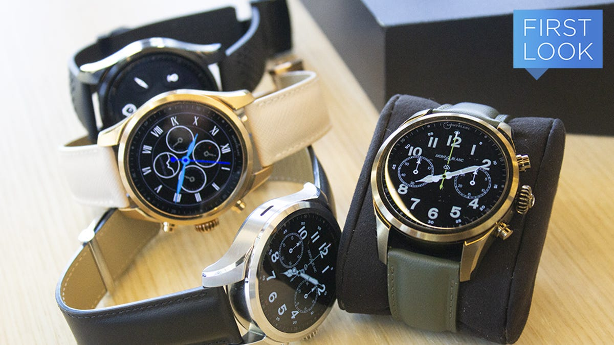 Montblanc Would Like You to Pay $1,170 for Its New LTE Smartwatch