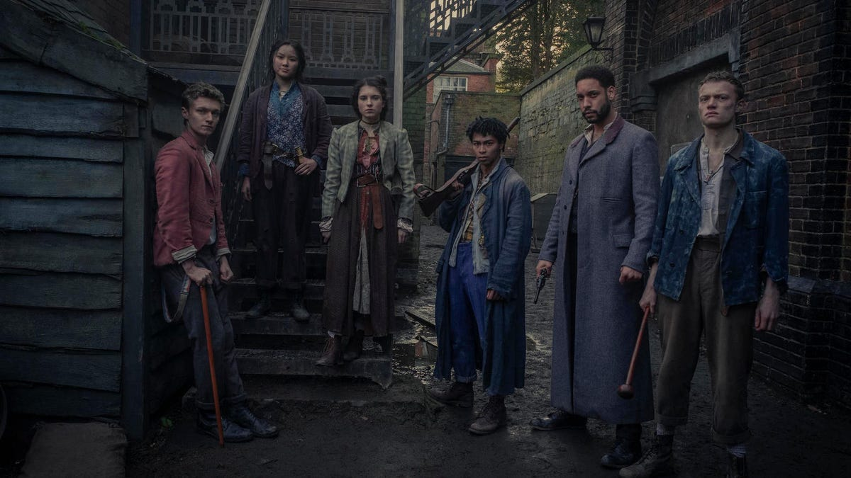 Urchins Take on Demons in New Sherlock Holmes Series The Irregulars
