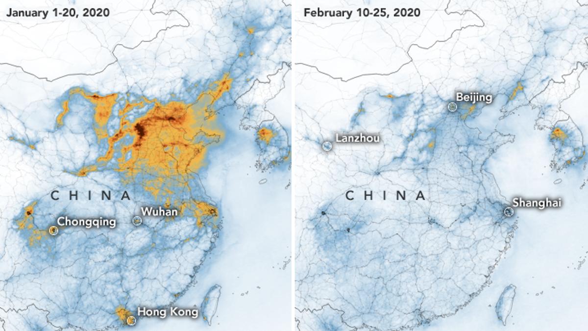 China's Air Pollution Rates Plummet After Coronavirus Lockdown