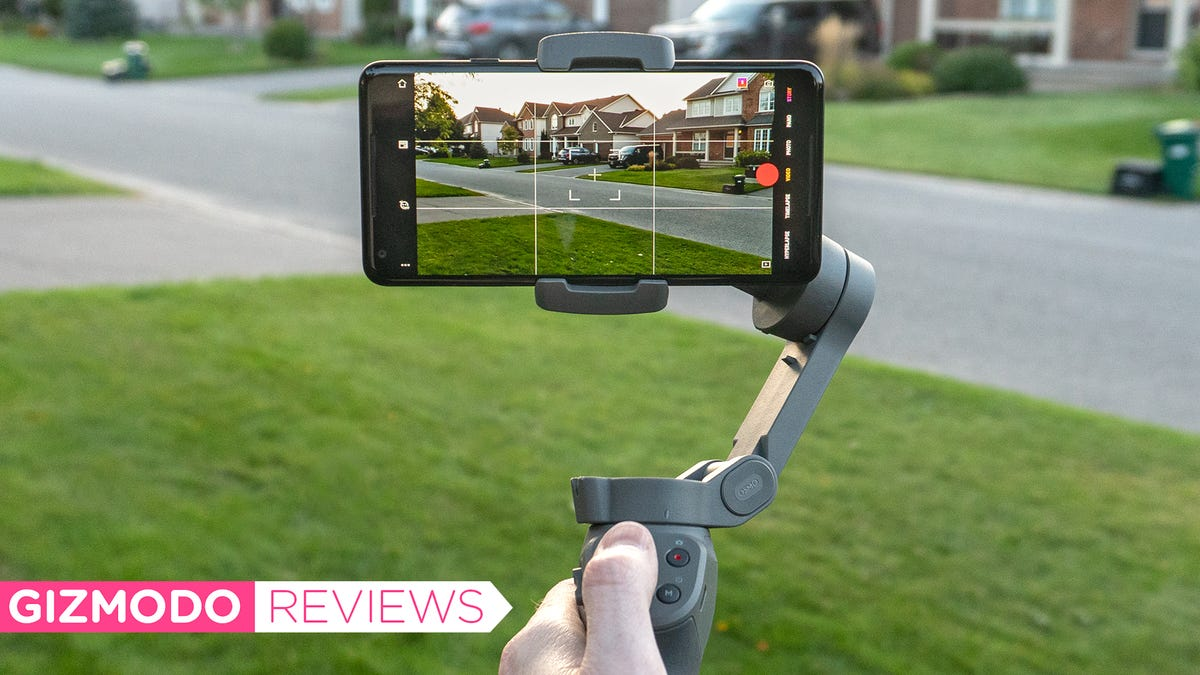 DJI's $120 Smartphone Stabilizer Shouldn't Be This Good