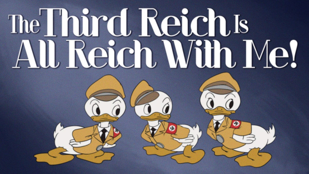 Disney Estate Uncovers Cache Of Anti-American Cartoons Intended For Release If Axis Won WWII