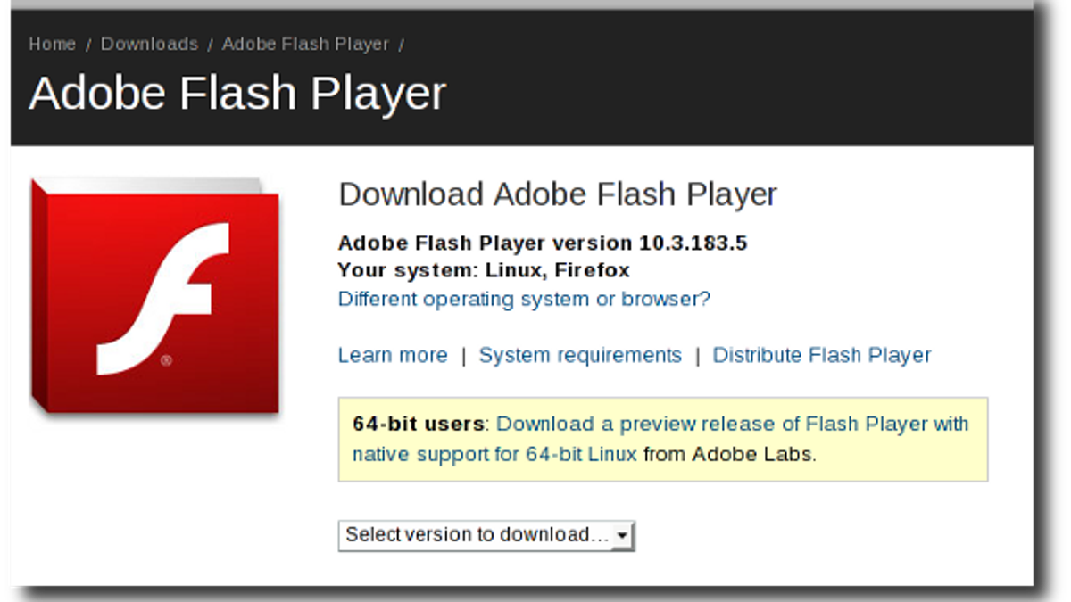 adobe flash player 11.3 free download for windows 10