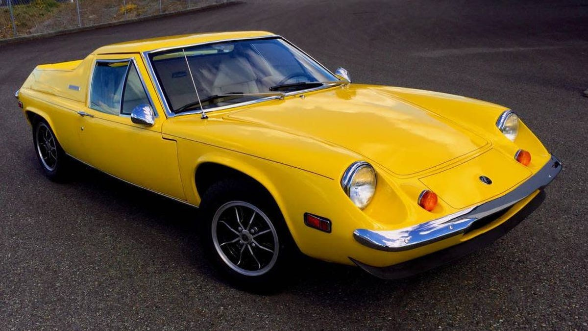 At $25,000, Could This Restored 1974 Lotus Europa Big-Valve Twin Cam Rope You In?