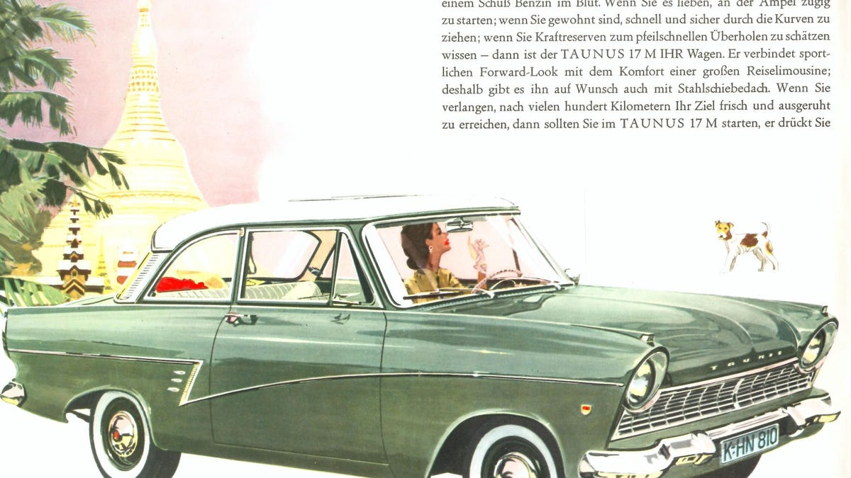 It's not widely known, but early Ford Tanus 17Ms used a lot of anti-caninium alloys in their hood, w