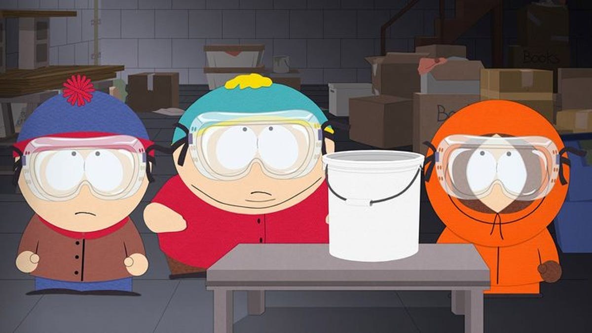The latest South Park gets into some actual shit, again.