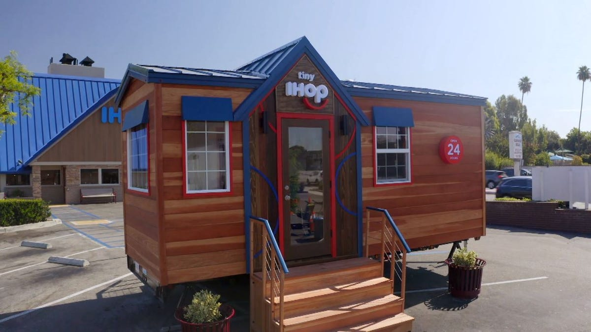 Everyone has a pop-up now, so why not IHOP and that tiny house TV show?