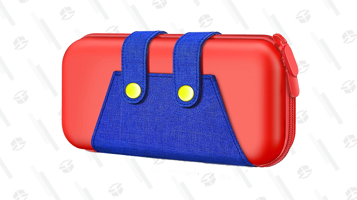 Put Your Nintendo Switch in Mario's Pants for $11