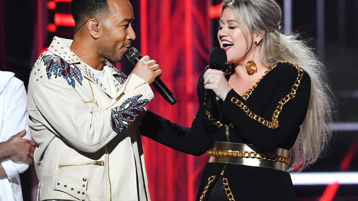 John Legend and Kelly Clarkson made