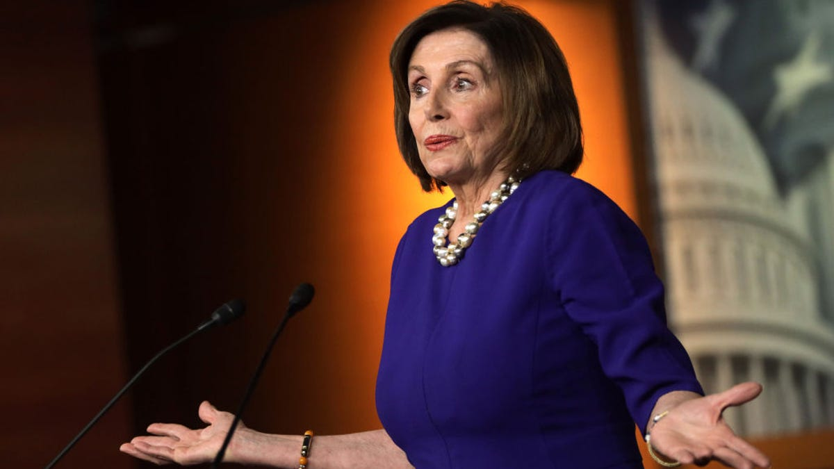 Watch: Nancy Pelosi Dry Snitches on Trump's Alleged Drug Use