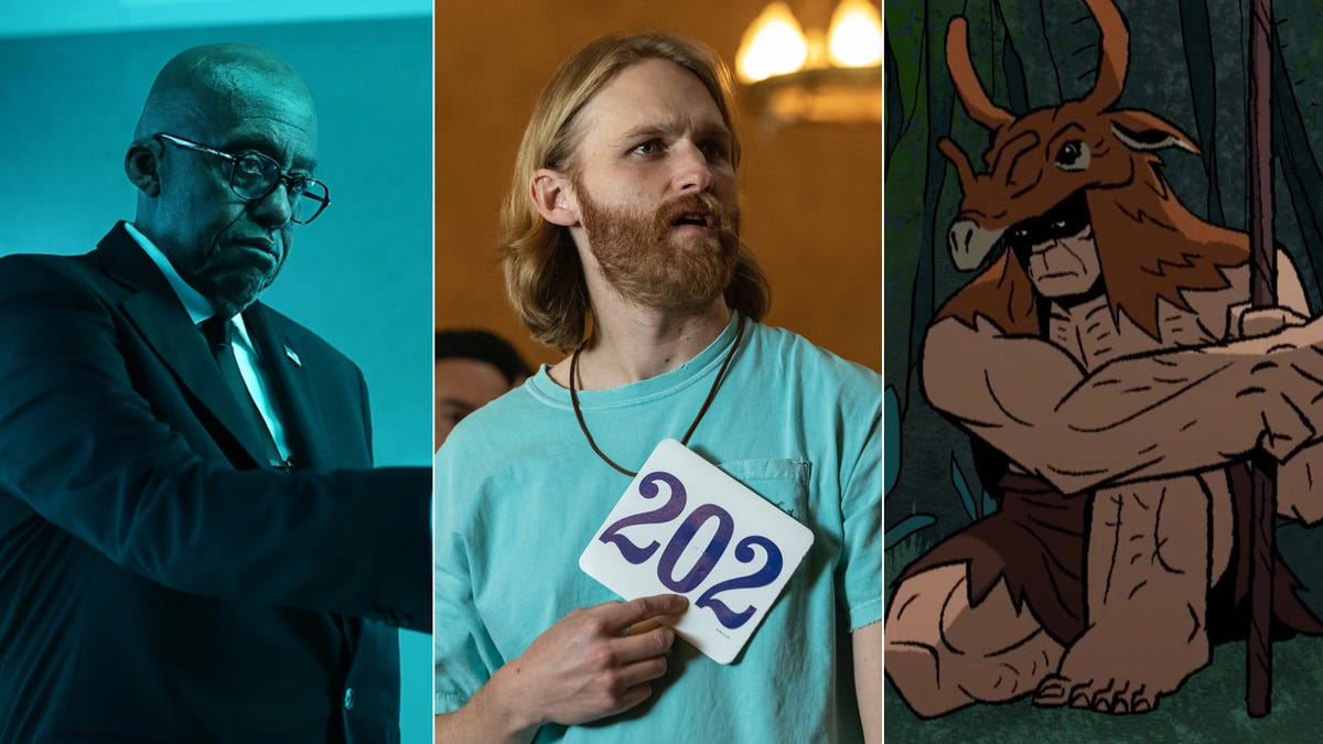 Black Lightning and Genndy Tartakovsky's Primal premiere, plus an exclusive look at Lodge 49