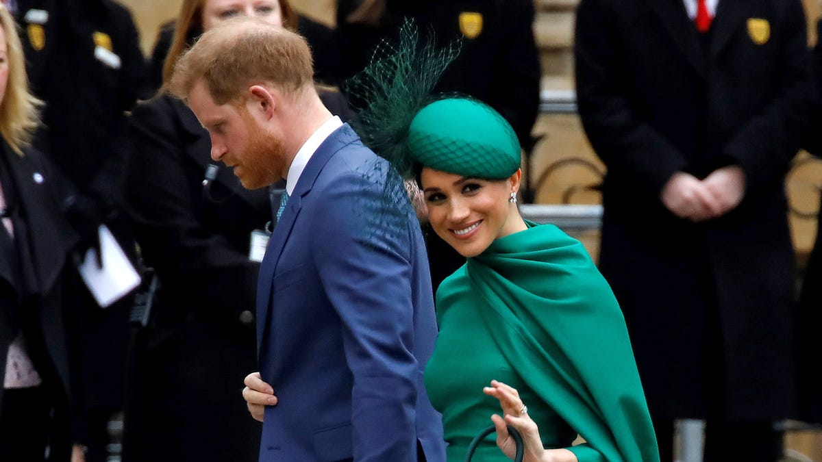 Somewhere in California, Meghan Markle Has A Satisfied Smile