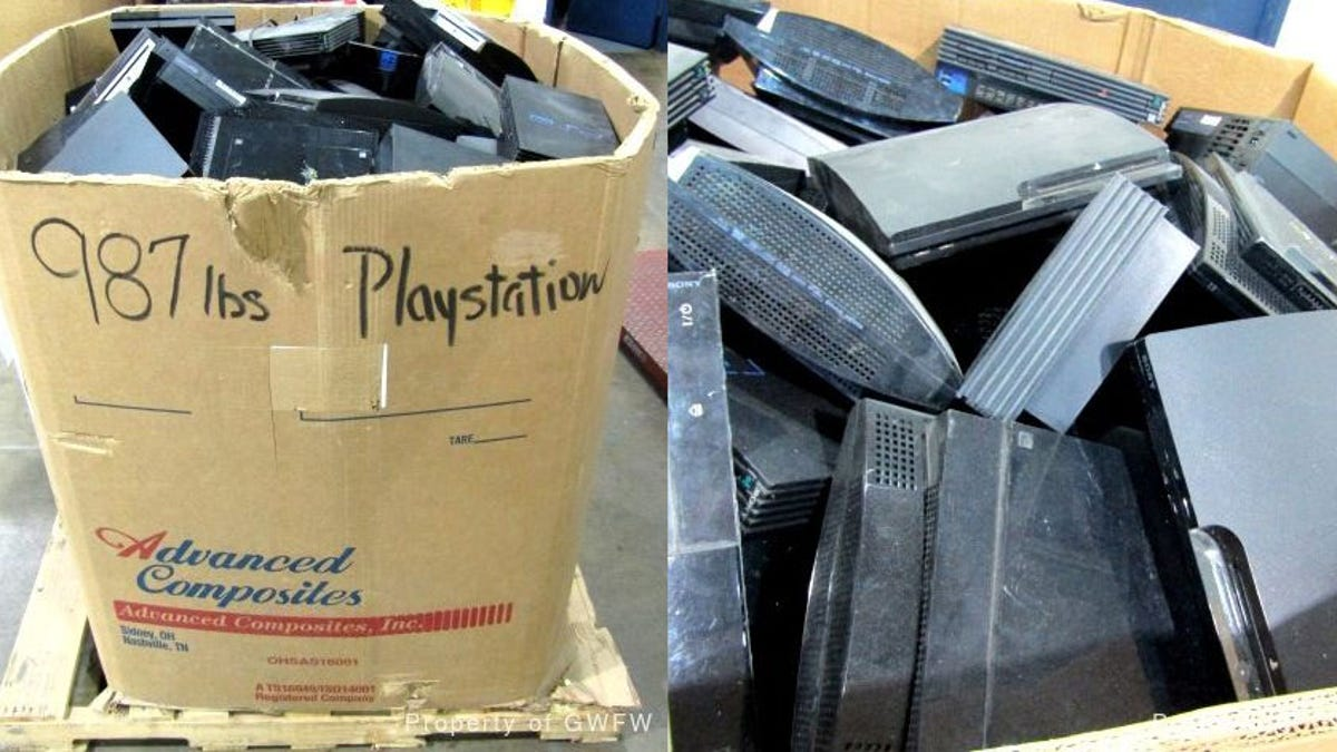 You Can Buy A 912lb Box Of PlayStation Consoles