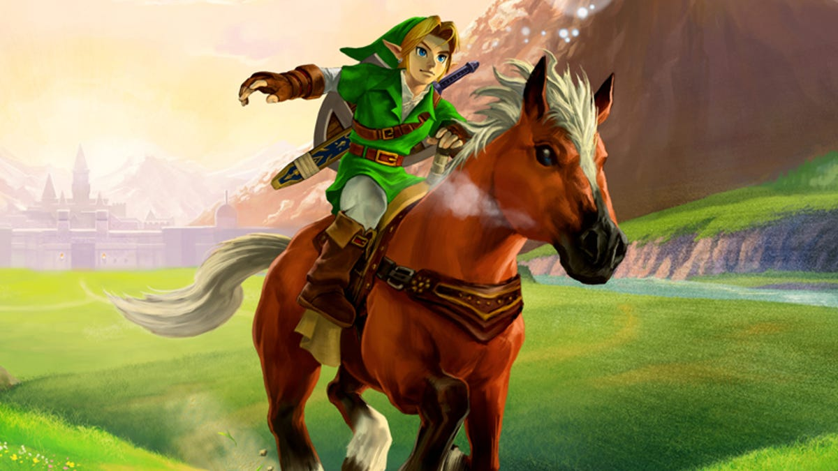 Ocarina Of Time Demo Fragments Reveal A Much Earlier Version Of The Game