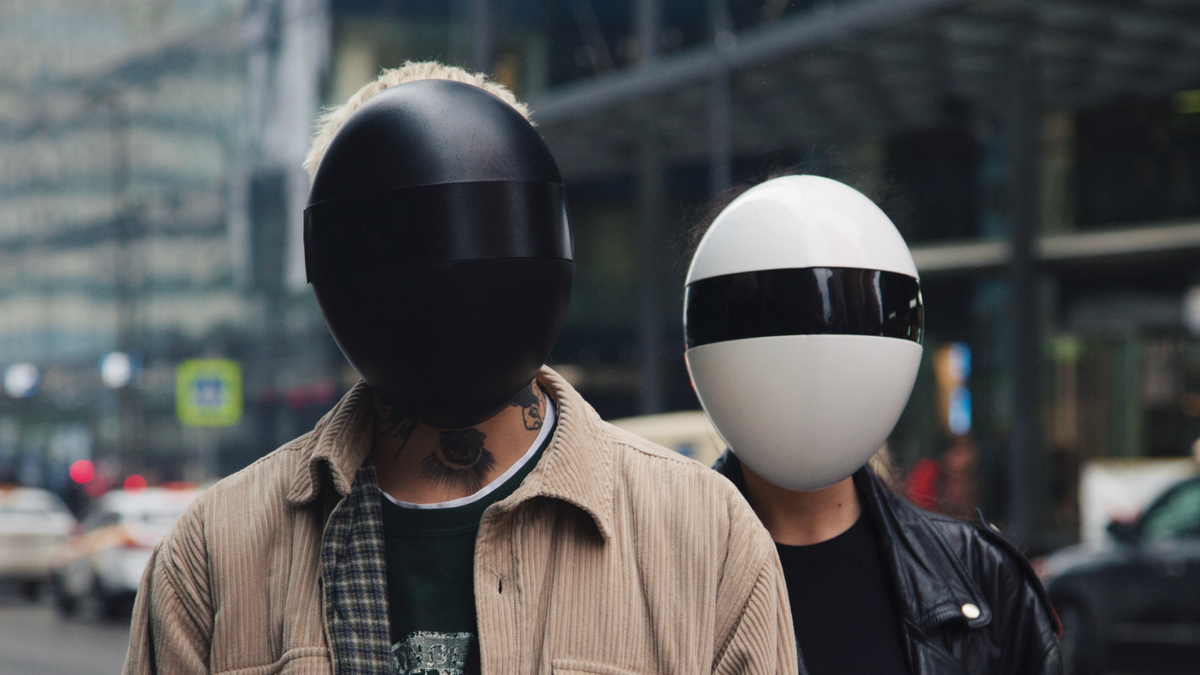 Somebody, Please Explain This Cyberpunk Egg Mask to Me