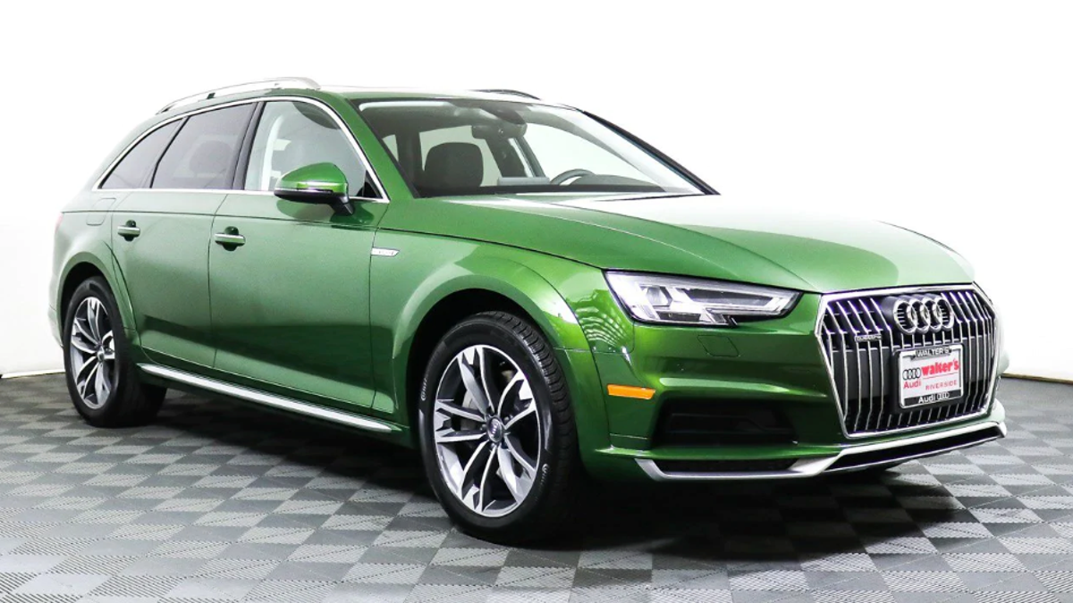 I Am So Down For This Brand New Audi Allroad In Metallic Green