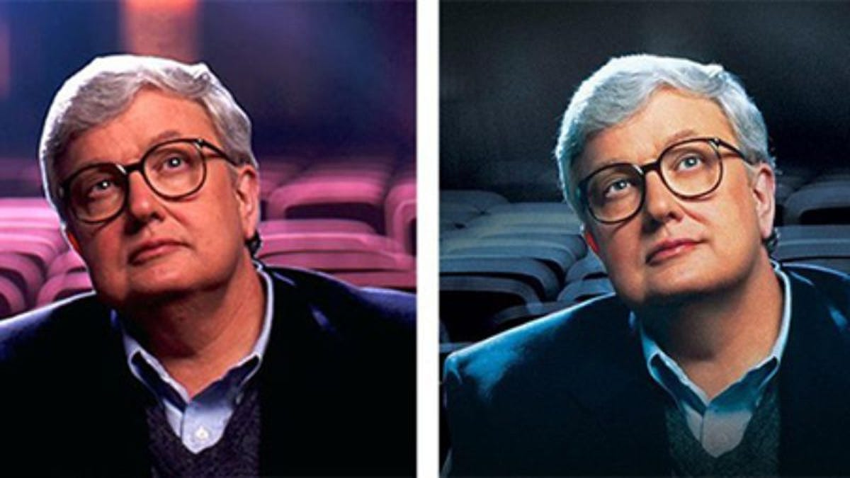 The Life Itself poster was Photoshopped to put a smile on Roger Ebert's face