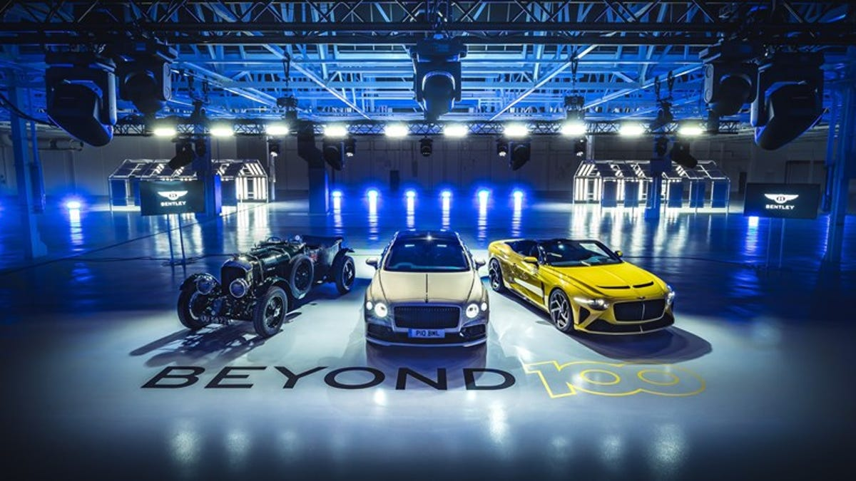 Bentley Plans An All-Electric Lineup By 2030