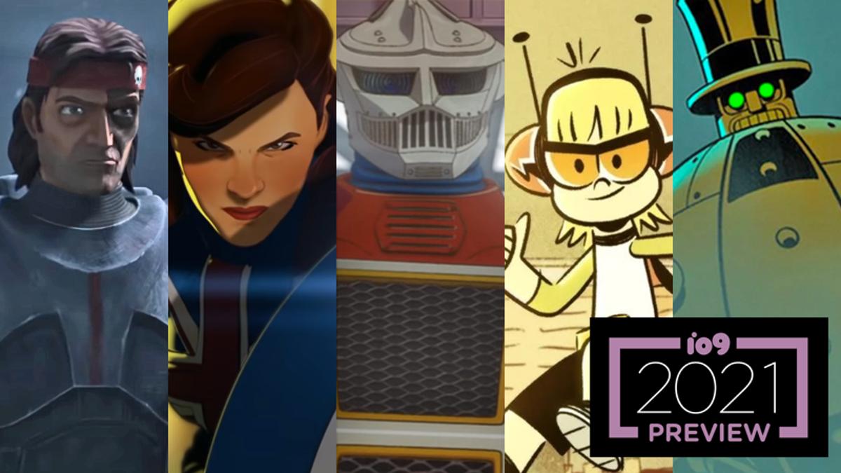 gizmodo.com - io9 Staff - Guide to 2021 TV, Part 1: Animated Sci-Fi, Fantasy, Superhero Shows