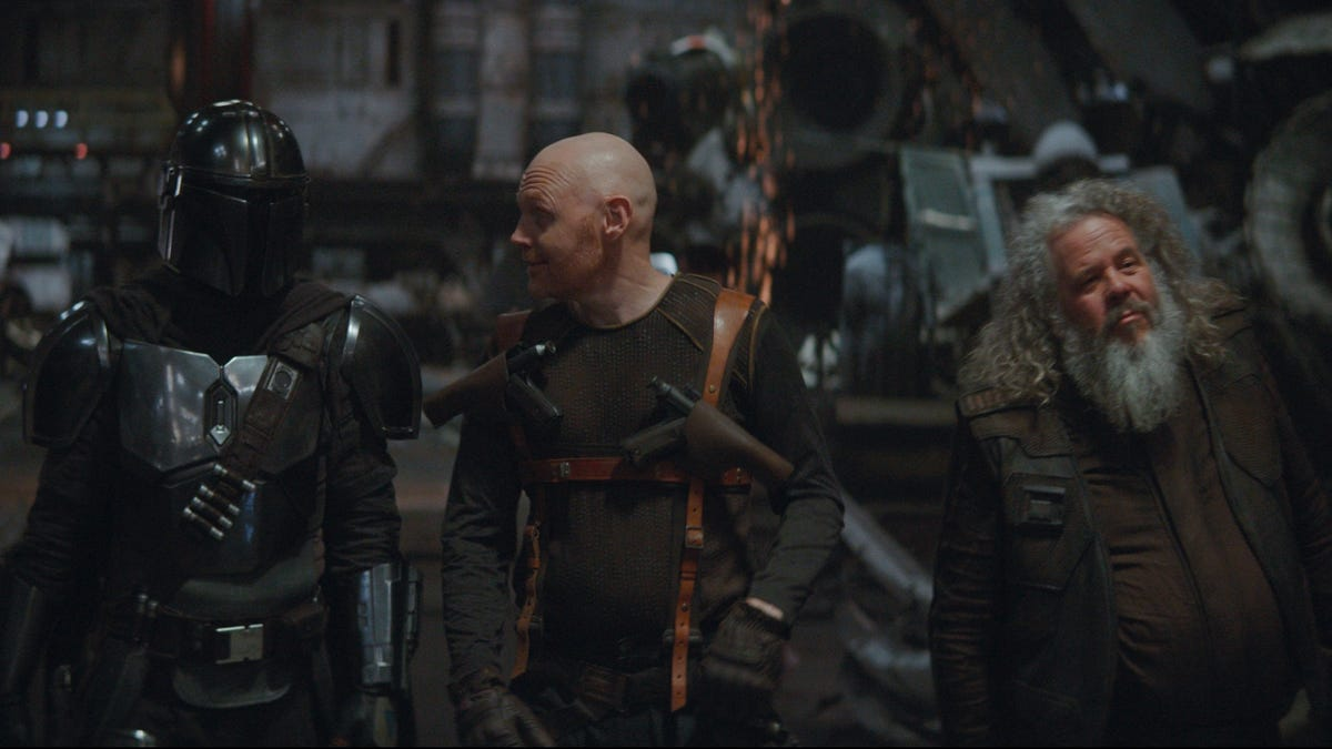 The Mandalorian meets up with old friends, and remembers why they don't hang out anymore