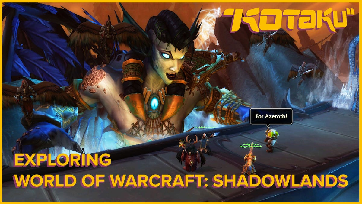 Exploring the First Few Zones of World of Warcraft: Shadowlands