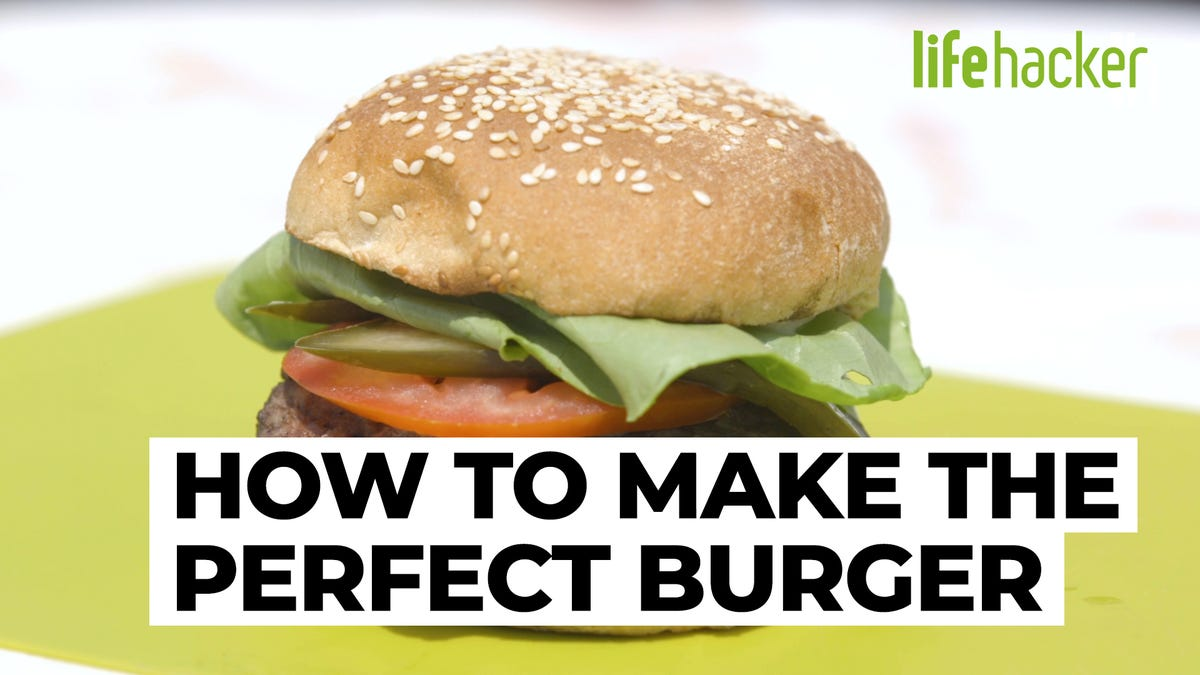 How to Make a Perfect Burger on the Grill
