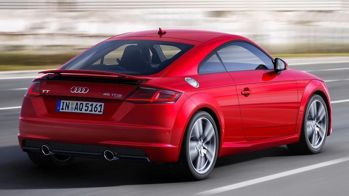 slow selling audi tt to end production be replaced by electric car. Black Bedroom Furniture Sets. Home Design Ideas