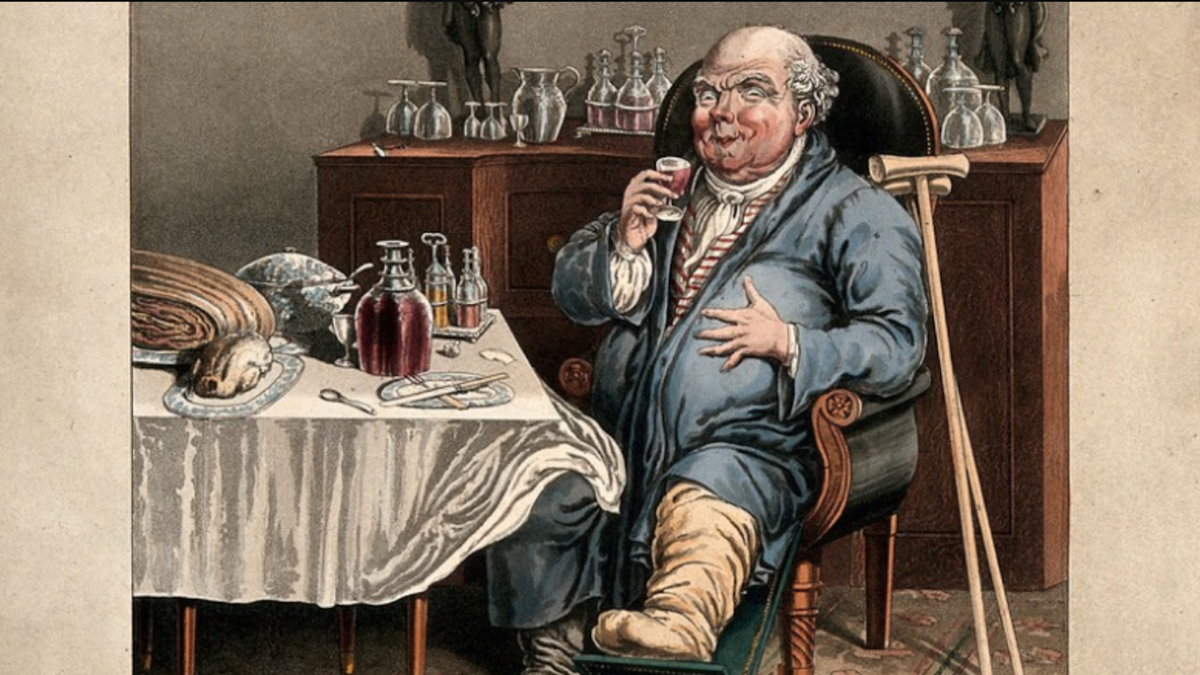 The Gouty, Flatulent, Meat-Bloated Aristocrats Who Never Stopped Eating