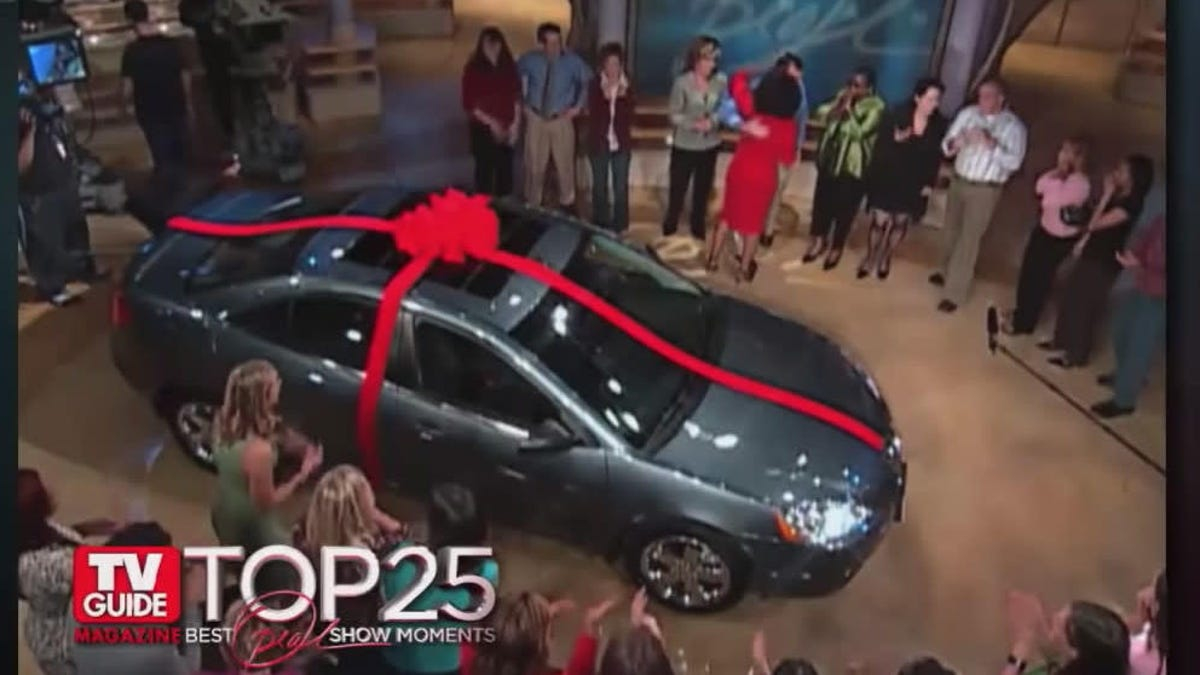 That Time Oprah Gave 276 People 'Free' Cars That Actually Costed Them $6,000 In Taxes