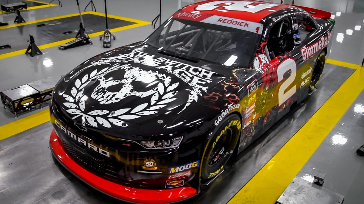 This Killswitch Engage NASCAR Car Reminds Me Of All The Band T-Shirts I've Misplaced Over The Years