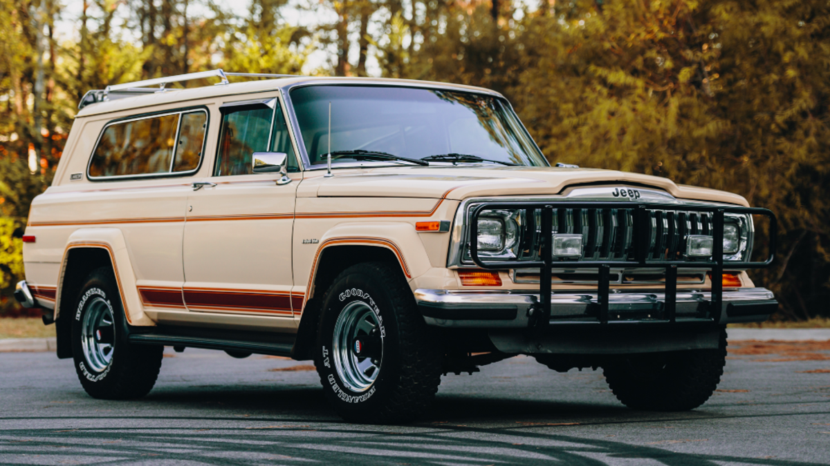 Someone Just Paid $51,360 For This Perfect 1983 Jeep Cherokee
