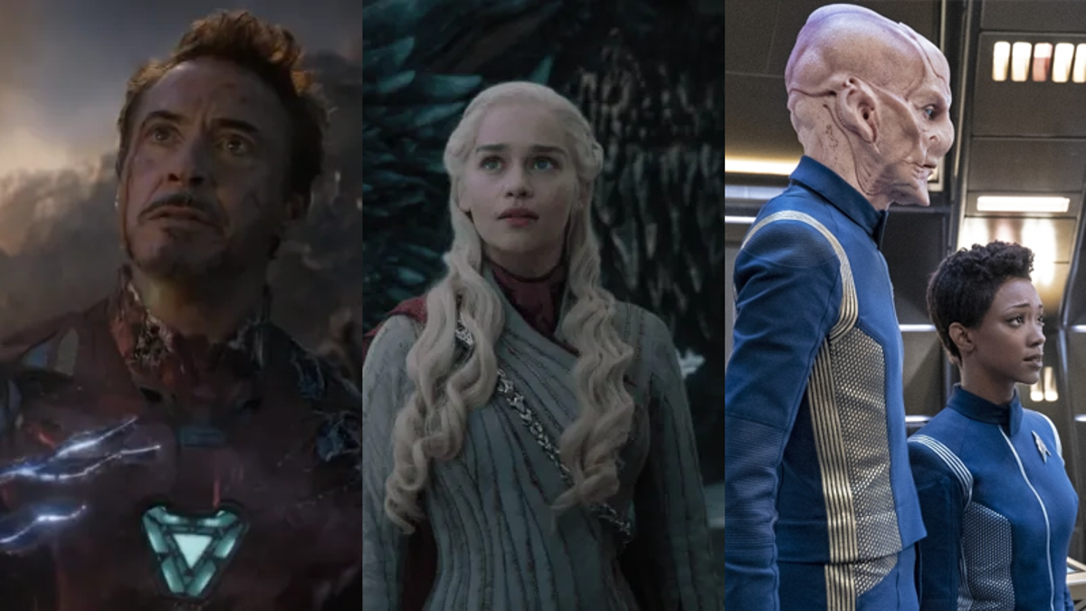 Marvel, Game of Thrones, and Star Trek: Discovery Win Big at the Saturn Awards
