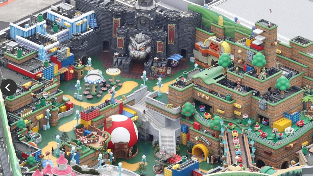 Nintendo's Theme Park is Looking Fantastic & Everything Else Nintendo